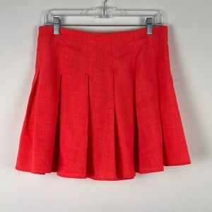 Nasty Gal Pleated Mini Skirt Size L